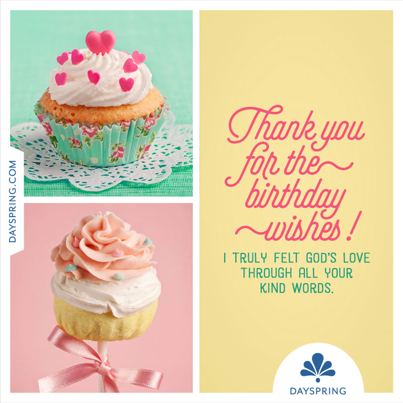thank you for the birthday wishes ecards dayspring