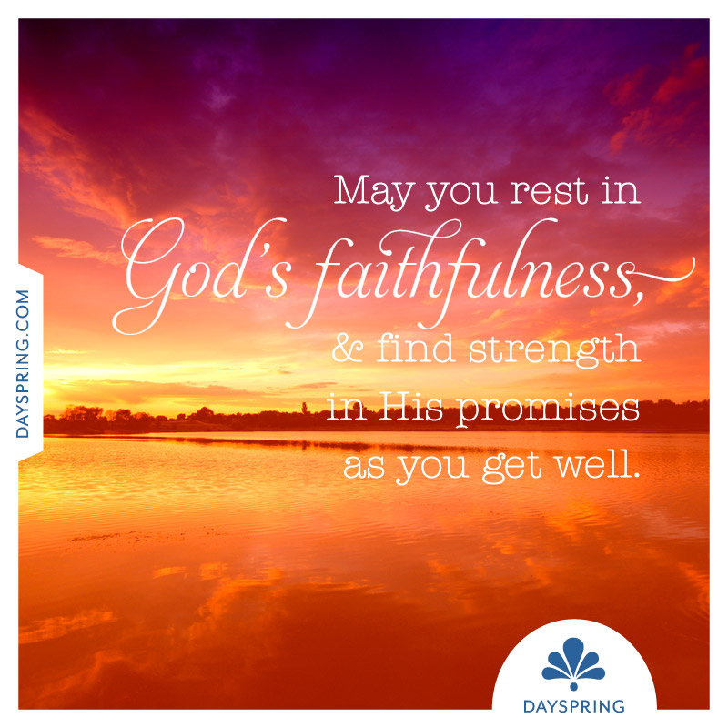 Rest in God's Faithfulness