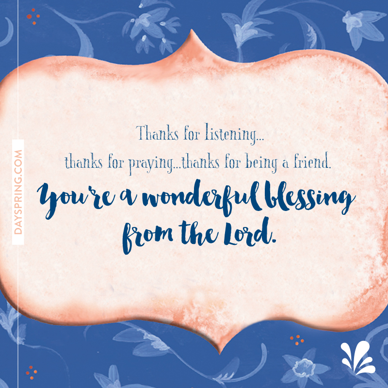 Wonderful Blessing
