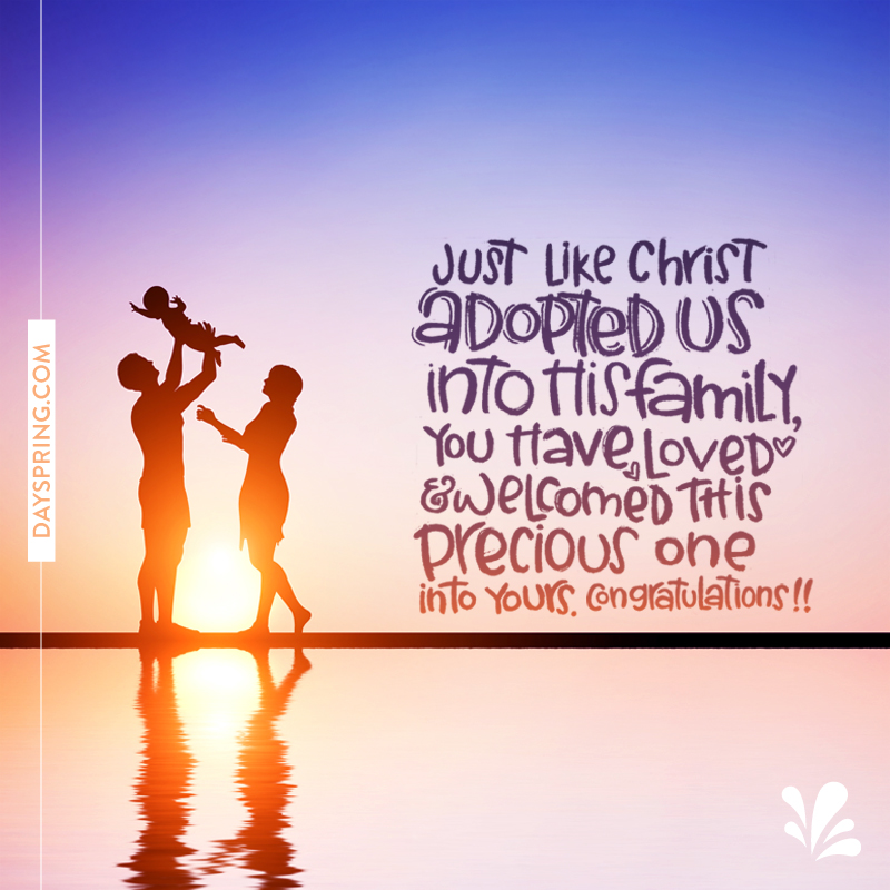 Adopted By Christ