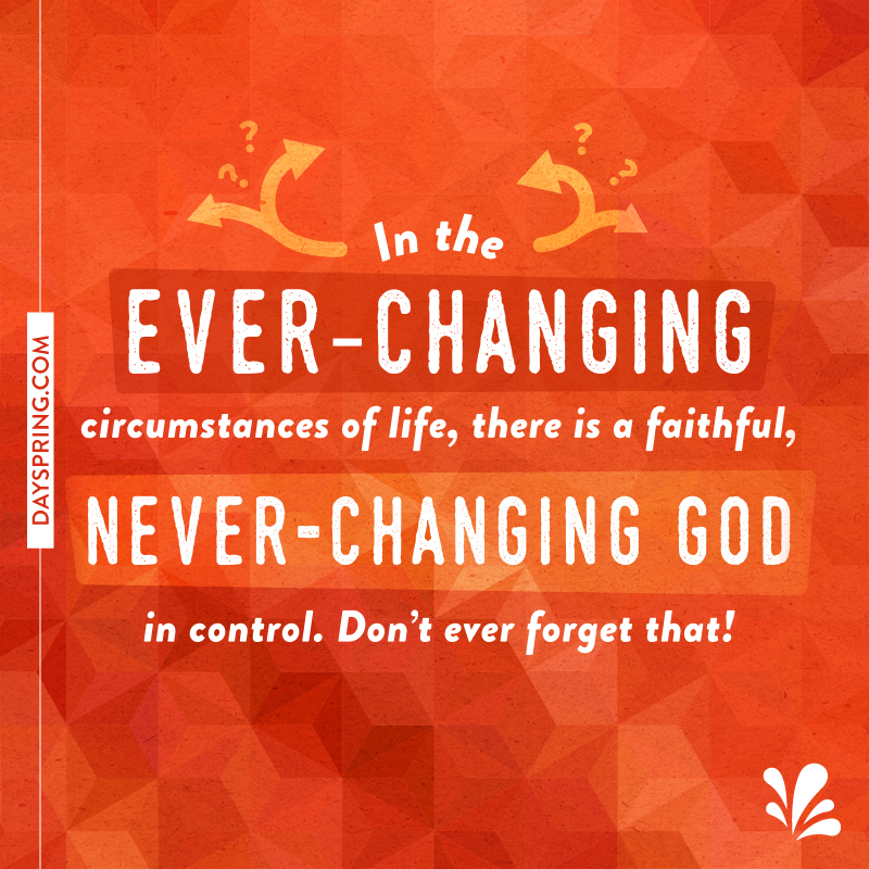 Never Changing God
