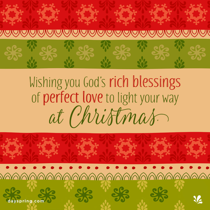 God's Rich Blessings