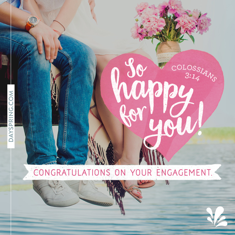 Wedding and engagement ecards dayspring celebrating your engagement m4hsunfo
