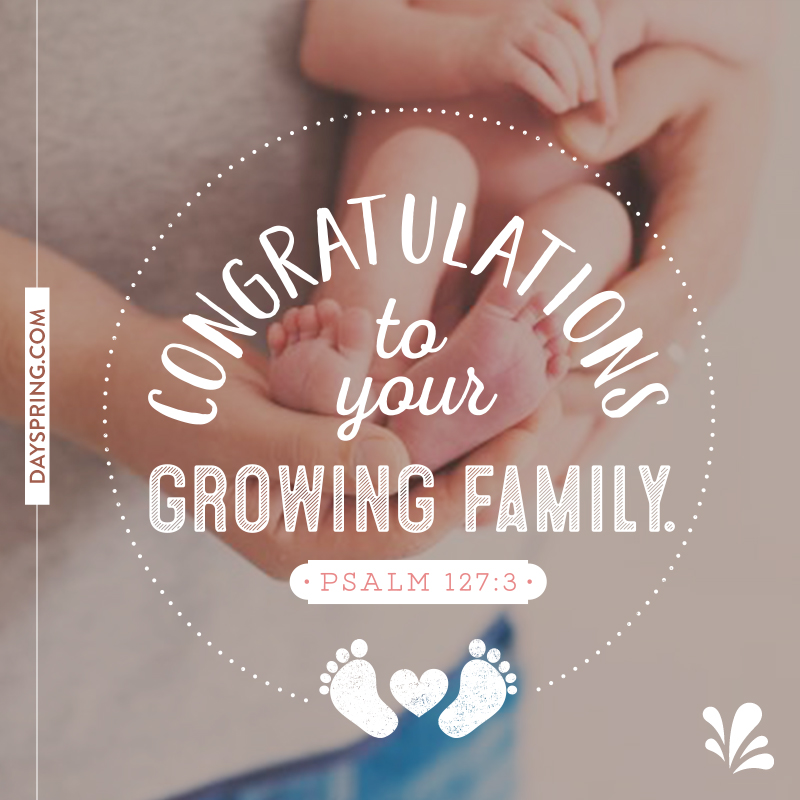 See what 39 s new ecards dayspring for Growing families