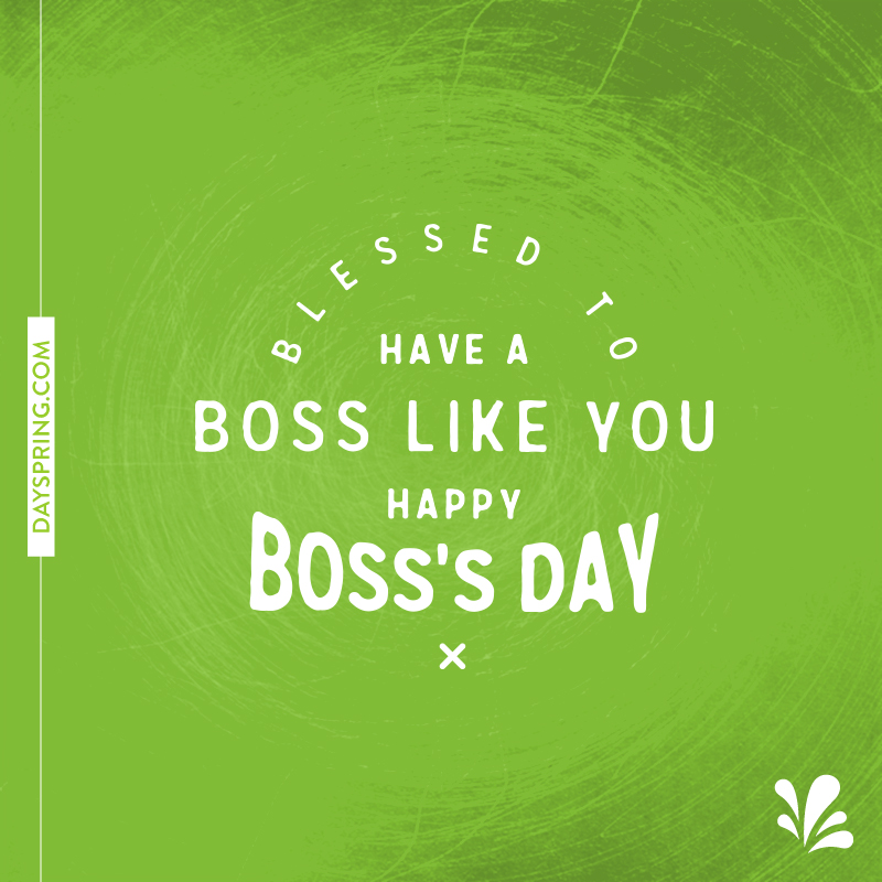 Happy bosss day ecards dayspring happy bosss day m4hsunfo