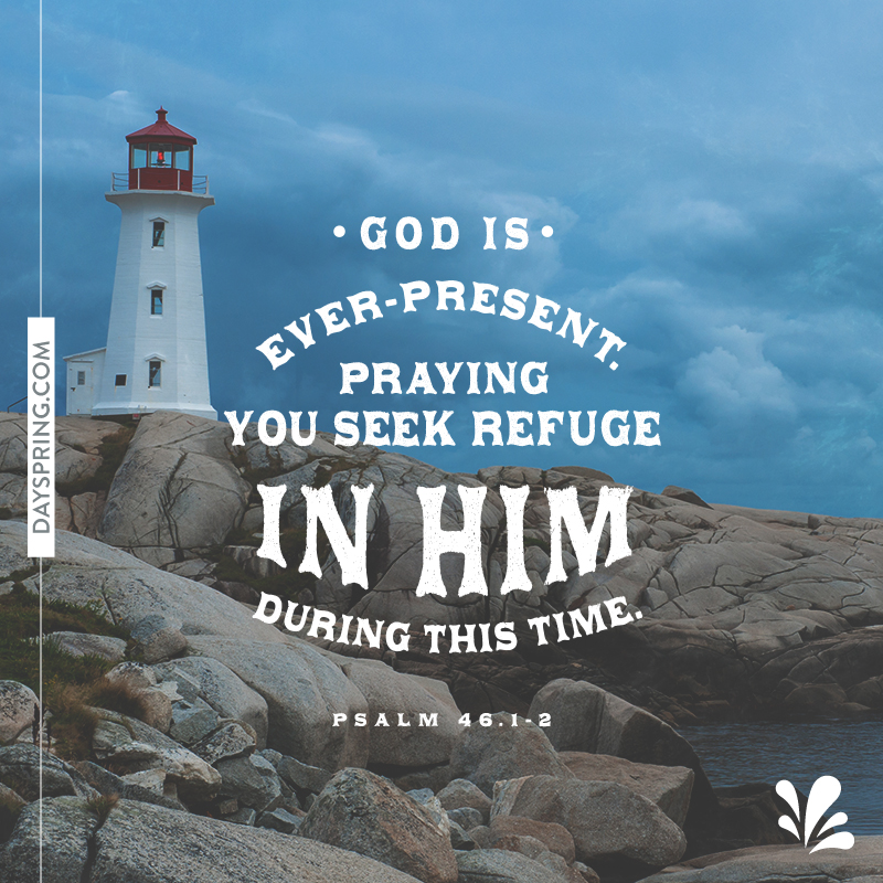 Seek Refuge in Him