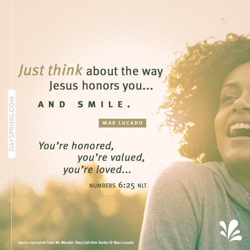 Jesus Honors You