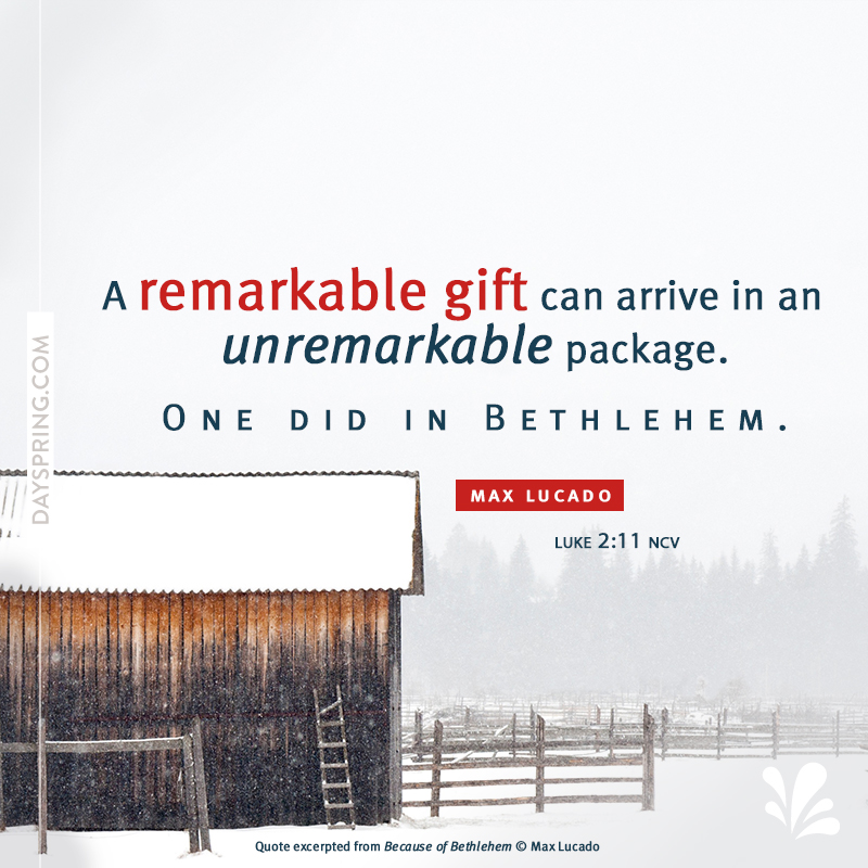 A Remarkable Gift