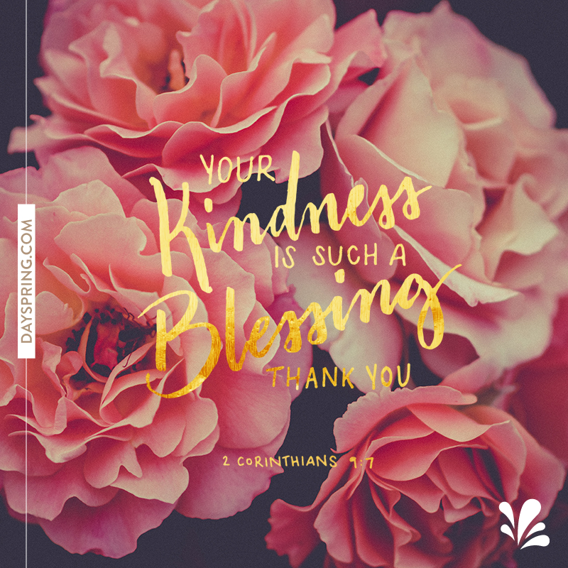 Blessing Of Kindness
