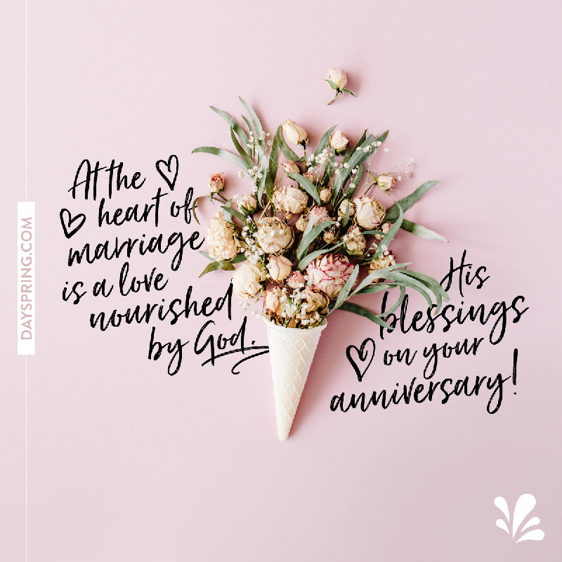 Anniversary ecards dayspring heart of marriage m4hsunfo