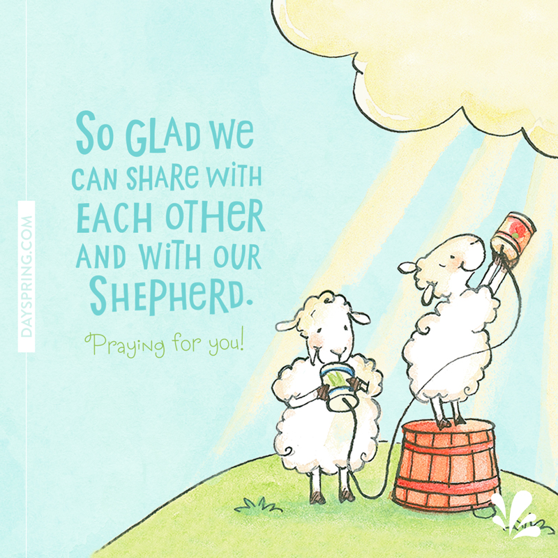 Share With Our Shepherd