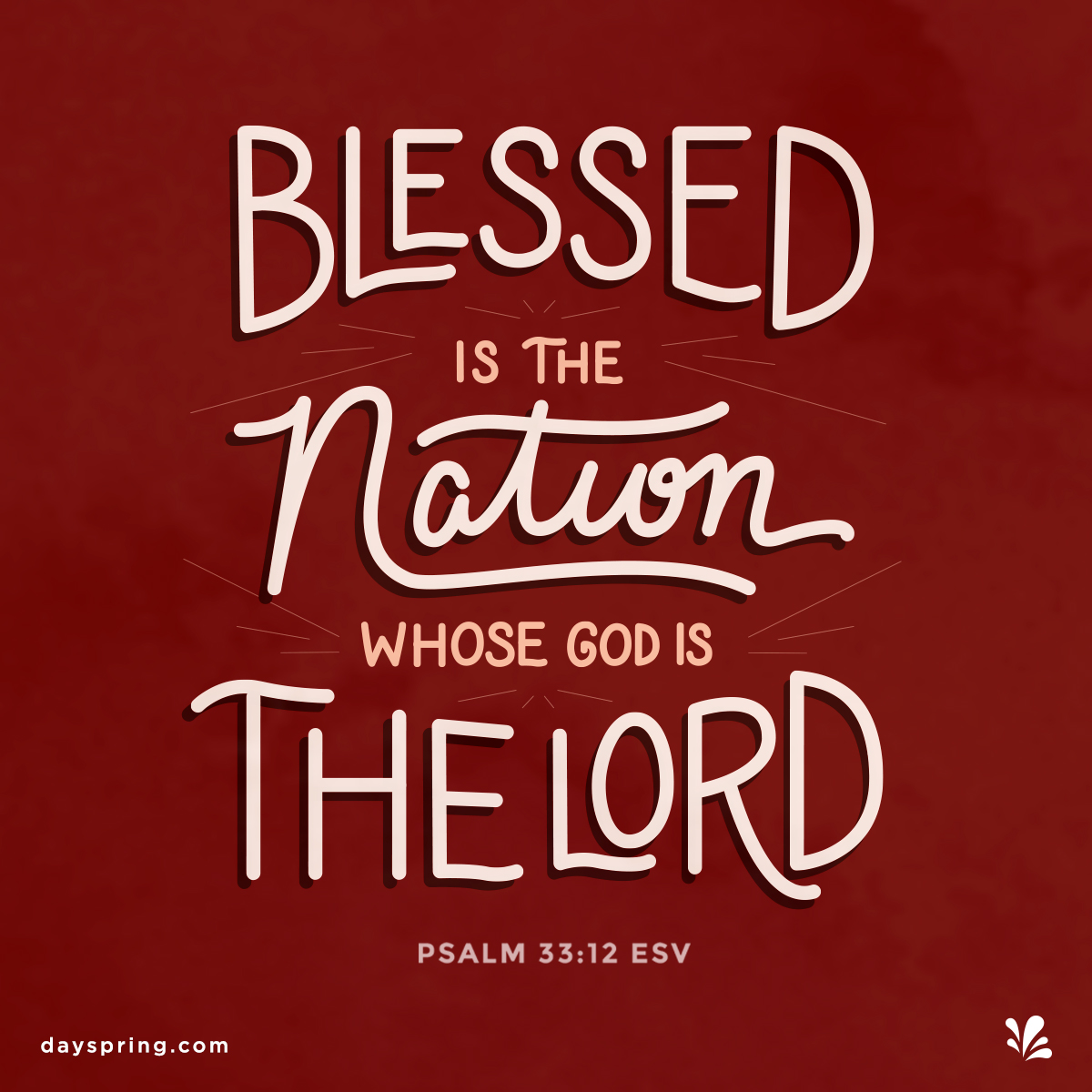 Blessing For Our Nation