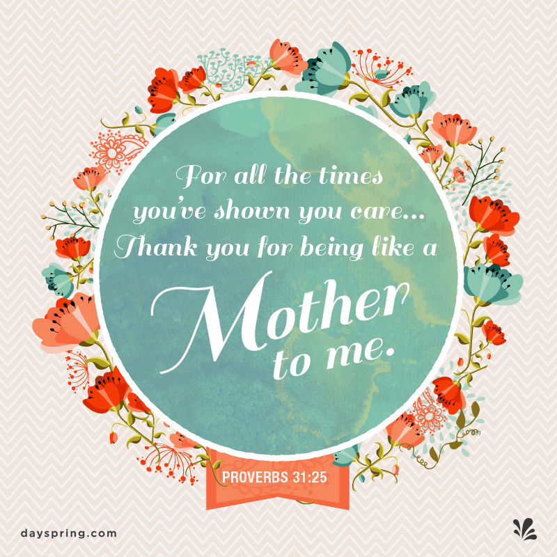 Thank You - Mother's Day