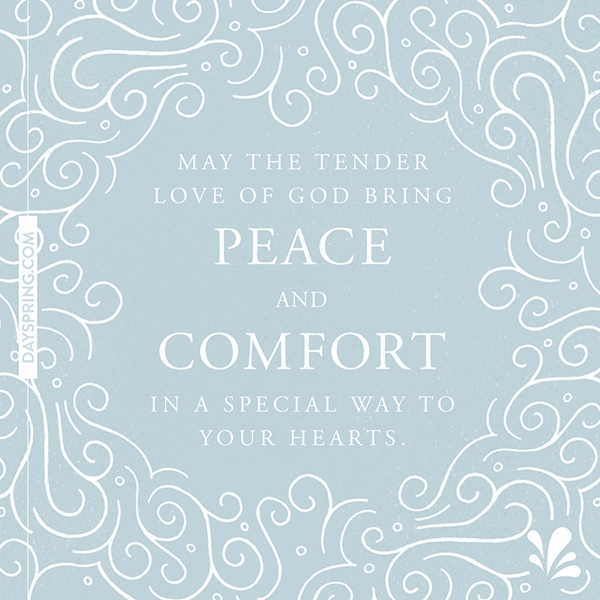 Peace and Comfort