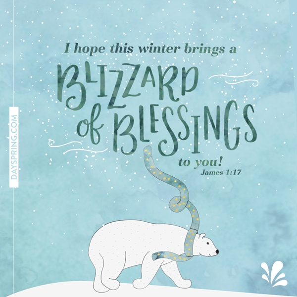 Blizzard of Blessings