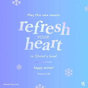 Refresh Your Heart